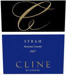 Cline Syrah Red 2007