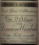 Domaine Weinbach Tokay Pinot Gris Alsace Aoc Cuvée Laurence