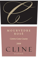 Cline Cellars Mourvedre Rose 2008