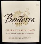 Bonterra Vineyards Cabernet Sauvingon 2007