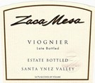 Zaca Mesa Viognier Estate Bottled 2008