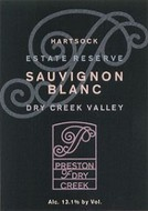Preston of Dry Creek Sauvignon Blanc 2008