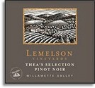 Lemelson Vineyards Pinot Noir Cuvee X 2007