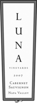 Luna Vineyards Cabernet Sauvignon 2007