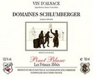 Domaines Schlumberger 'Les Princes Abbes' Pinot Blanc 2007
