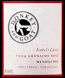 A Donkey and Goat Grenache Rose 2009