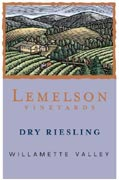 Lemelson Dry Riesling 2008