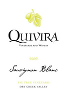 Quivira Sauvignon Blanc Fig Tree Vineyard 2009