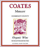 Coates No Sulfites Detected Organic Merlot 2007