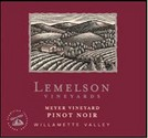 Lemelson Vineyards Pinot Noir Meyer Vineyard 2008