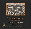 Lemelson Vineyards Pinot Noir Jerome Reserve 2008