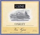 Cline Cellars Oakley Vin Gris 2008