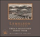 Lemelson Vineyards Thea's Selection Pinot Noir 2008