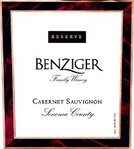Benziger Family Winery Cabernet Sauvignon Reserve 2007