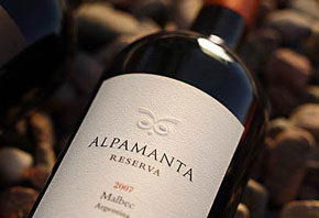 Alpamanta Organic Estate Malbec 2007