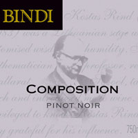 Bindi Pinot Noir Macedon Ranges Composition