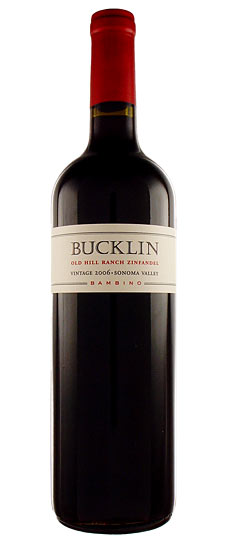 Bucklin Old Hill Ranch Cabernet 2007