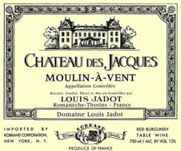 Chateau des Jacques Louis Jadot Morgon 2009