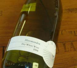 "Davenport Vineyards Limney ""Horsmonden"" Dry White East Sussex 2007"