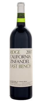 Ridge Vineyards Zinfandel East Bench 2007