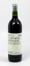 Ridge Vineyards Zinfandel East Bench 2008