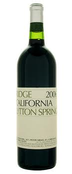 Ridge Vineyards Zinfandel Lytton Springs 2007